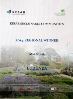 KESAB Sustainable Communities - 2014 Eudunda is Mid North Region Winner