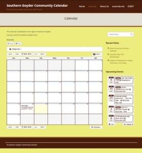 New eudunda-net calendar grid- screen snap