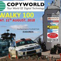 Eudunda 9am Start for Copyworld Walky 100 Rally on 11th Aug 2018