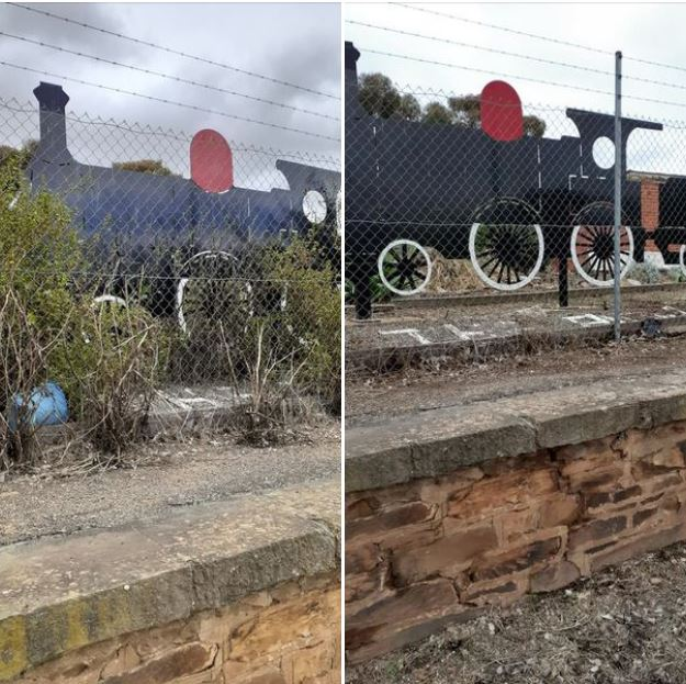Appeal to Clean Up Railway Station Nov 2020