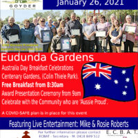 Australia Day Breakfast – Eudunda – 26th Jan 2021