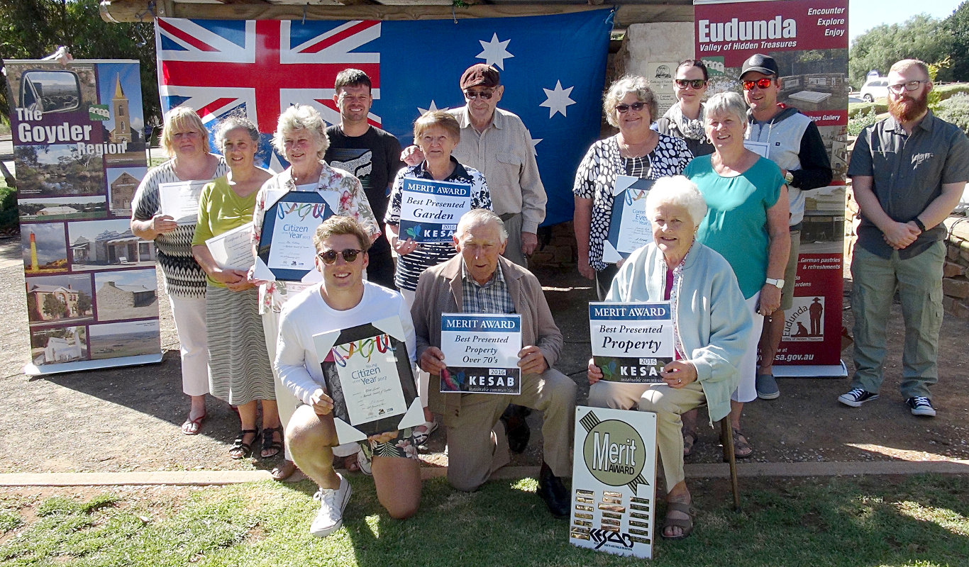 Australia Day Winners Eudunda 2017