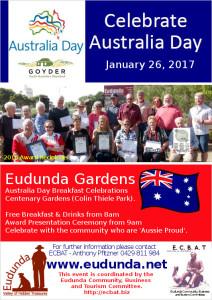 Australia Day Breakfast Eudunda 2017 Flier
