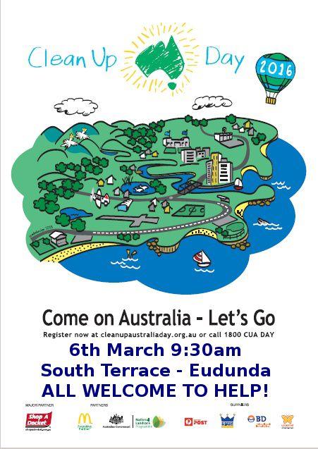 Clean Up Australia Day - 2016 Eudunda flier