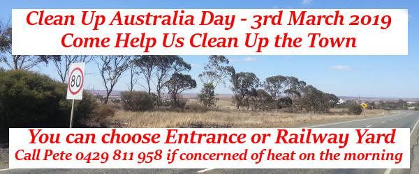 Clean Up Australia Day - 3rd Mar 2019
