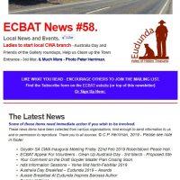Southern Goyder News from ECBAT #58