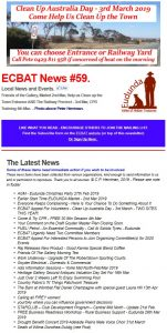 Southern Goyder News From ECBAT No 59 250219 cover