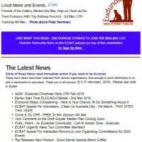 Southern Goyder News from ECBAT #59