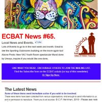 Southern Goyder News from ECBAT #65