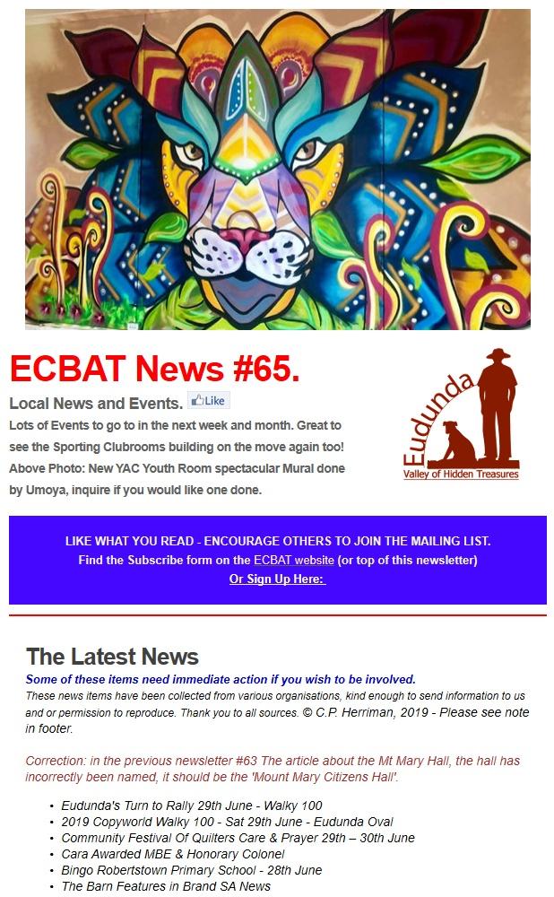 Cover of SG News No 65 - 240619