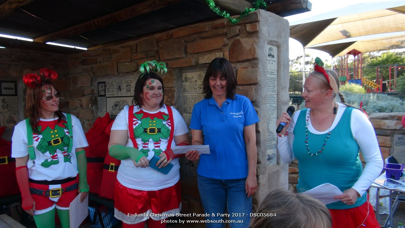 Eudunda Street Party 2017 Donation to Make A Wish