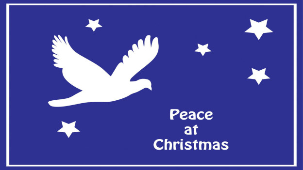 Dove Peace at Christma
