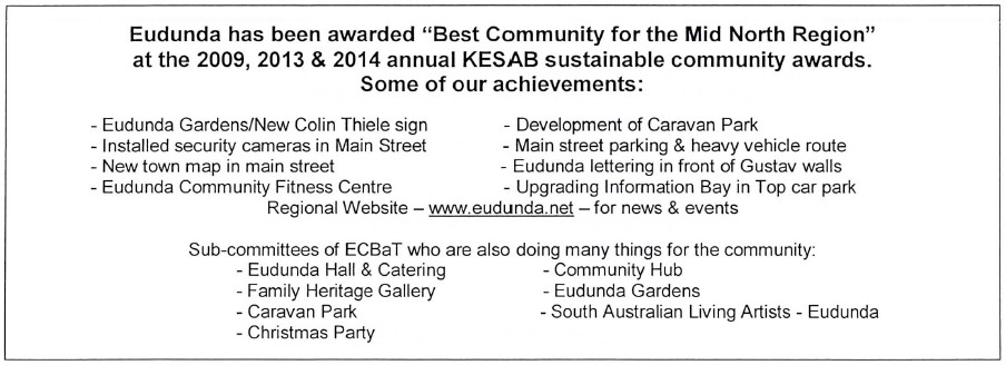 ECBAT AGM - Projects and Achievements 2018