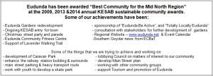 ECBAT Achievements 2016