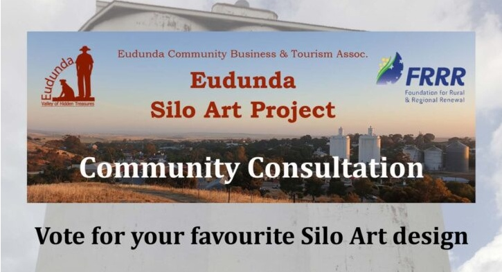 ECBAT Community Consultation - View Artist Concepts for Silo Art - Header