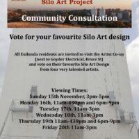 ECBAT Invite You to Vote For Your Favourite Silo Art Design From 15th – 20th Nov 2020