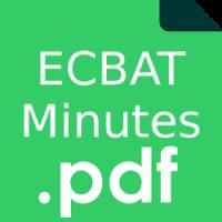 ECBAT Minutes – May 30th 2017
