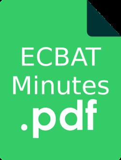 ECBAT Minutes PDF green