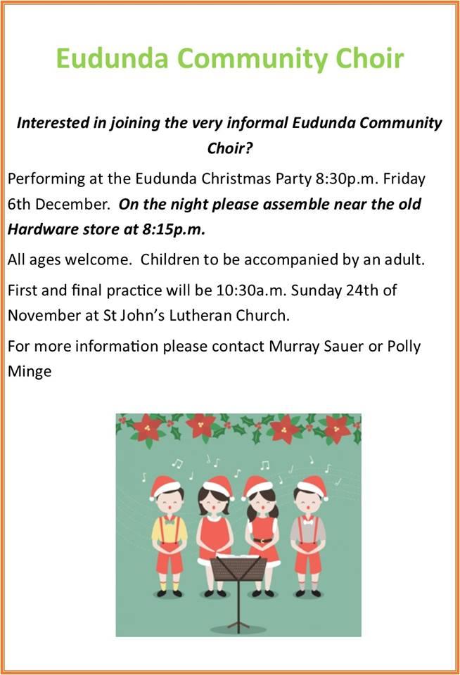 Eudunda Community Choir - 6th Dec 2019