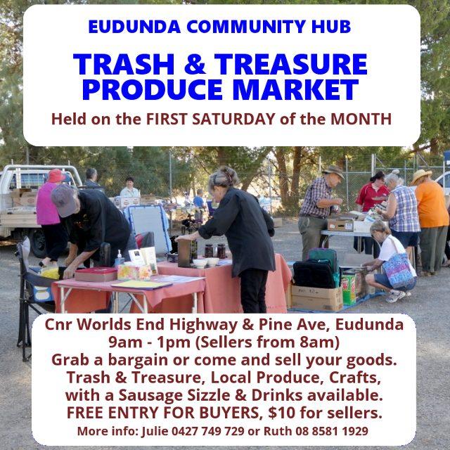 Eudunda Community Hub - First Saturday of the Month