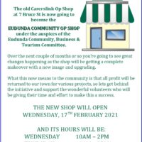Op Shop To Open Under ECBAT Management