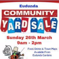 Eudunda Community Yard Sale – 26th Mar 2017