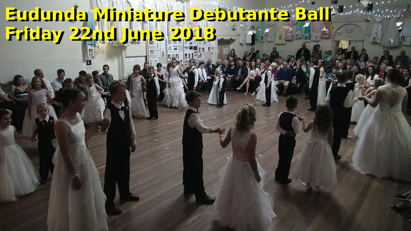 Eudunda Miniature Deb Ball Dance Couples - Fri 22nd June 2018