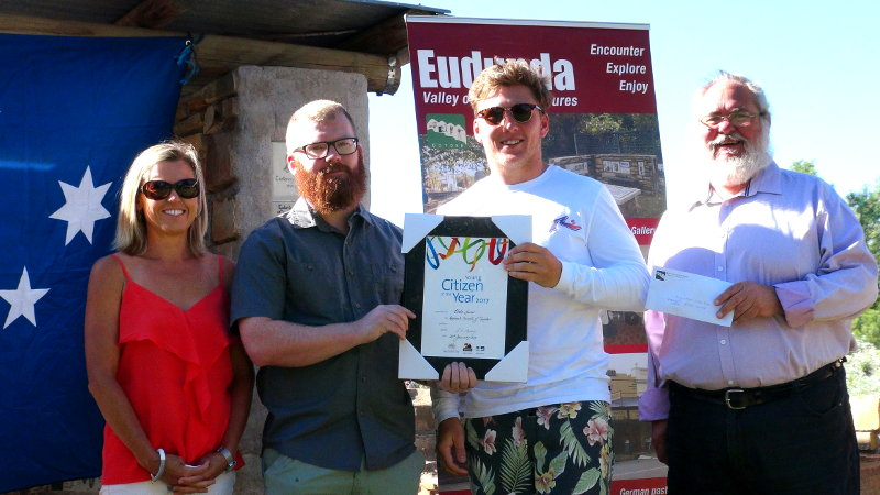 Eudunda Young Citizen of the Year 2017 - Blake Launer