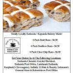 Hot Cross Buns Fundraiser for Eudunda Christmas Party