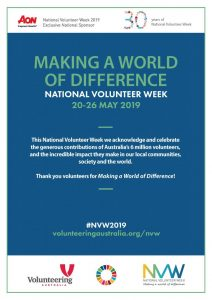 National Volunteer Week 20-26 May 2019 - Posters