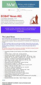 SG News From ECBAT No 62 230519 cover