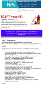 SG News From ECBAT No 63 290519 cover