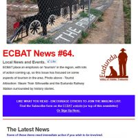 Southern Goyder News from ECBAT #64