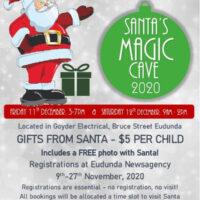 Santa's Magic Cave 2020 – Eudunda