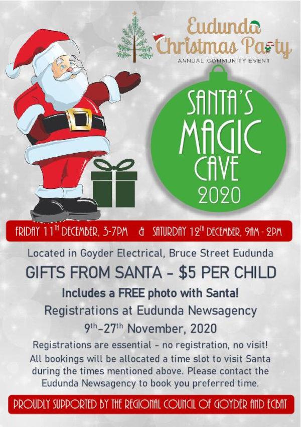 Santa's Cave 2020 Poster