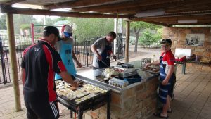 Sporting Clubs - catering BBQ