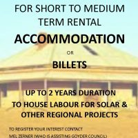 Wanted Local Housing for Rental Accommodation or Billets