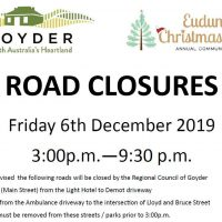 Road Closures Planned As Community To Celebrate Christmas 6th Dec